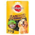 Pedigree Ranchos Dog Treat Original Lamb 70g