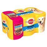 Pedigree Senior Variety Pack in Loaf 6 x 400g