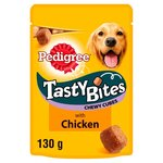 Pedigree Tasty Bites Dog Treats Chicken 130g