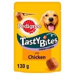 Pedigree Tasty Bites Dog Treats Chicken 130g