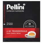 Pellini No.42 Traditional Ground Coffee 500g