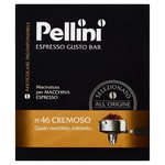 Pellini No.46 Cremeso Ground Coffee 500g