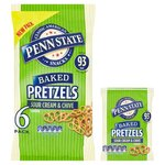 Penn State Pretzels Sour Cream and Chive 6 x 22g