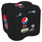 Pepsi Max 4 x 330ml Cans