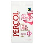 Percol Fairtrade Organic Latin America Arabica Ground Coffee 200g