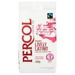 Percol Fairtrade Organic Latin America Arabica Ground Coffee 200g