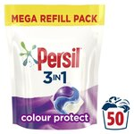 Persil 3 in 1 Colour Capsules 50 Washes