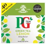 PG Tips Green Tea Lemon 40 Teabags