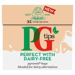 PG tips Perfect with Dairy Free Milk Alternatives Tea Bags x35