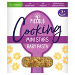 Piccolo Cooking Mini Stars Baby Pasta 500g