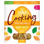 Piccolo Cooking Tricolore Shells Baby Pasta 400g