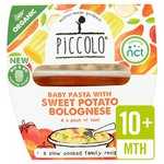 Piccolo Organic Baby Pasta with Sweet Potato Bolognese 180g
