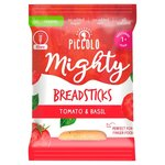 Piccolo Organic Mighty Breadsticks Tomato and Basil 20g