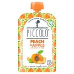 Piccolo Organic Peach and Apple with Hint of Basil 100g