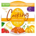 Piccolo Organic Pumpkin and Cheese Stir In Pasta Sauce 80g