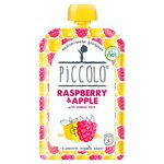 Piccolo Organic Raspberry and Apple with Soaked Oats 100g