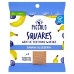 Piccolo Organic Squares Banana Blueberry 20g