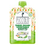 Piccolo Organic Three Grain Vegetable Risotto with a hint of Basil 130g