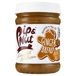 Pip and Nut Gingerbread Almond Butter 225g Limited Edition