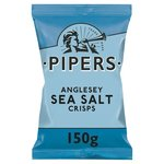 Pipers Sea Salt Crisps 150g