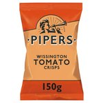 Pipers Tomato Crisps 150g