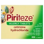 Piriteze Allergy Tablets 12 per pack