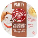 Polli Party Chargrilled Mushrooms with Chilli and Garlic 85g