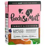 Pooch and Mutt Turkey and Chicken Complete Wet Food 375g