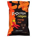Popchips Ridges Crazy Hot 85G