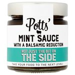 Potts Mint Sauce With A Balsamic Reduction 195G