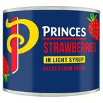Princes Strawberries In Syrup 210g