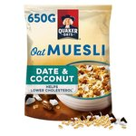 Quaker Oat Muesli with Date and Coconut 650g