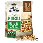 Quaker Oat Muesli with Nuts and Seeds 600g