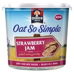 Quaker Oat So Simple Pot Strawberry Jam 53g