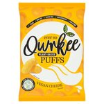 Qwrkee Gut Friendly Probiotic Vegan Cheese Flavoured Puffs 80g