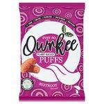 Qwrkee Vegan Gut Friendly Probiotic Beetroot Flavour Puffs 80g