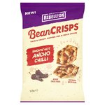 Rebellion Bean Crisps Hot Ancho Chilli 113g