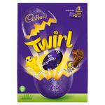Retail Pack Cadbury Twirl Milk Chocolate Easter Egg 6 x 237g