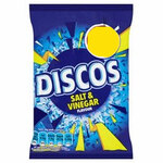 Retail Pack Discos Salt and Vinegar Flavour 28 x 56g