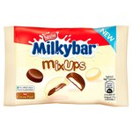 Retail Pack Nestle Milkybar Mix Ups White and Milk Chocolate Bag 36 x 32.5g