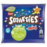 Retail Pack Nestle Mini Smarties Buttons Milk Chocolate 60 x 15g