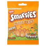 Retail Pack Nestle Smarties Mini Eggs Orange Bag 12 x 100g