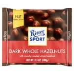 Ritter Sport Nut Perfection Whole Hazelnut Dark Chocolate 100g