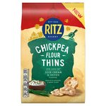 Ritz Chickpea Flour Thins Sour Cream And Chives 100g