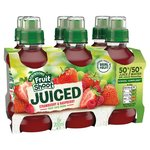 Robinsons Fruit Shoot Juiced Strawberry and Raspberry 6 x 200ml