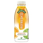 Robinsons Refreshd No Added Sugar Orange and Lime Spring Water with Real Fruit 12 x 500ml