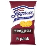 Roysters T-Bone Steak Chips 5 Pack