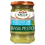 Sacla Reduced Fat Basil Pesto 190g