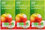 Sainsburys Apple Juice 6 x 200ml Cartons