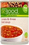 Sainsburys Be Good To Yourself Tomato and Three Bean Soup 400g